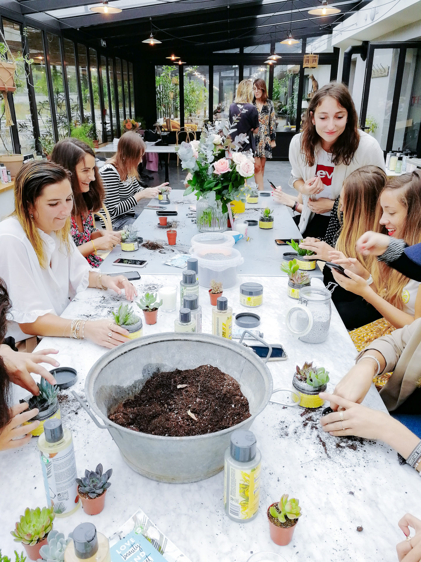 Atelier terrarium Be Vegetal